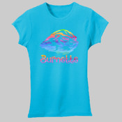 Watercolor - 2616 LAT Girls' Fine Jersey T-Shirt