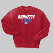 Burnette Lions - 562-X Jerzees 8oz. NuBlend® 50/50 Fleece Crew