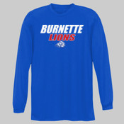 Burnette Lions - NB3165 A4 Youth Long Sleeve Cooling Performance Crew Shirt